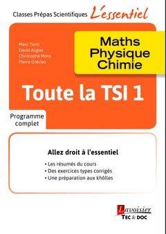 Toute la TSI 1 - lavoisier / tec et doc - 9782743022792 -