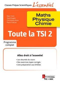 Toute la TSI 2 - lavoisier / tec et doc - 9782743022808 -