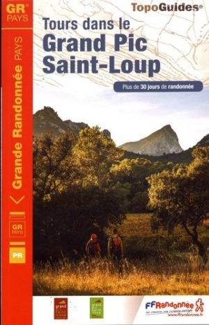 Tours dans le Grand Pic Saint-Loup - FFRandonnée - 9782751408830 -