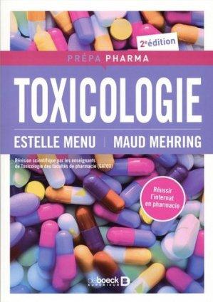 Toxicologie - de boeck - 9782807320536
