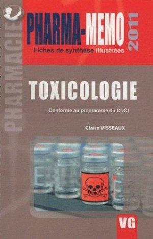 Toxicologie - vernazobres grego - 9782818302514