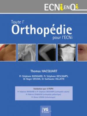 Toute l'orthopédie pour l'ECNi - vernazobres grego - 9782818317792 -