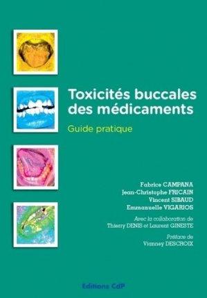 Toxicités buccales des médicaments - cdp - 9782843613203 -