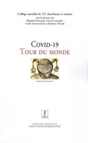 Tour du monde du Covid - Editions Manucius - 9782845787254 -