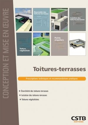 Toitures-terrasses - cstb  - 9782868916556 -