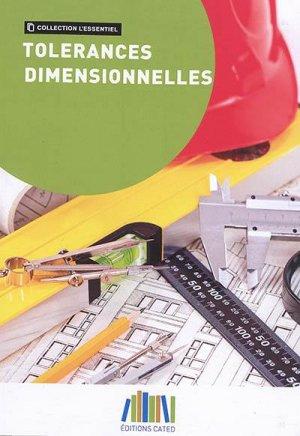 Tolérances dimensionnelles - ginger cated - 9791090187504 -