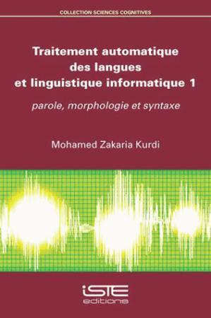 Traitement automatique des langues et linguistique informatique - iste - 9781784051846 -