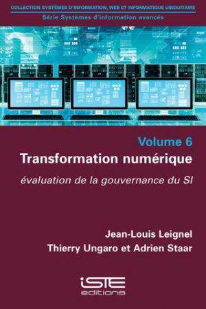 Transformation numérique - iste - 9781784052461 -