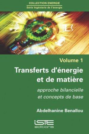 Transferts d'énergie et de matière-iste-9781784053390