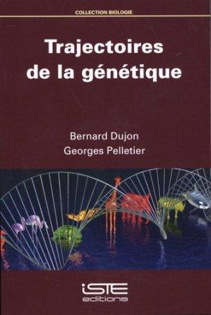 Trajectoires de la génétique - iste - 9781784056391 -