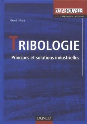 Tribologie - Dunod - 9782100056071 -
