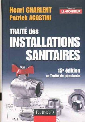 Traité des installations sanitaires - dunod - 9782100509744 -