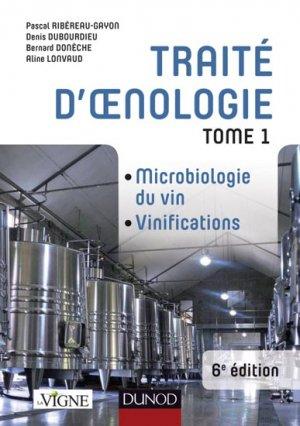 Traité d'oenologie - Tome 1 - dunod - 9782100582341 -