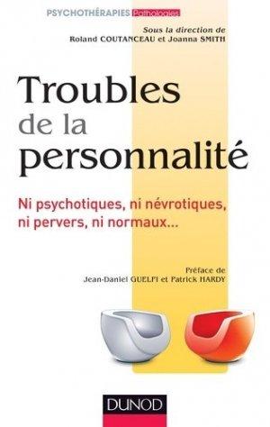 Troubles de la personnalité - dunod - 9782100598694 -