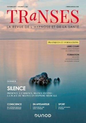 Transes N° 9, octobre 2019 : Silence - Dunod - 9782100633210 -