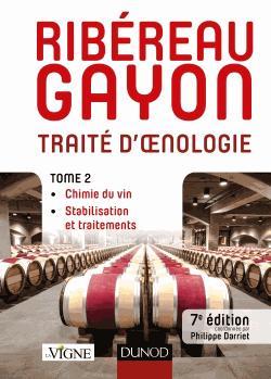 Traité d'oenologie - Tome 2 - dunod - 9782100765614 -