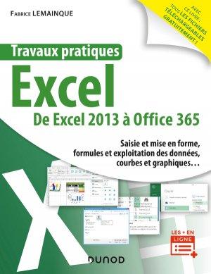 Travaux pratiques - Excel - dunod - 9782100790364 -