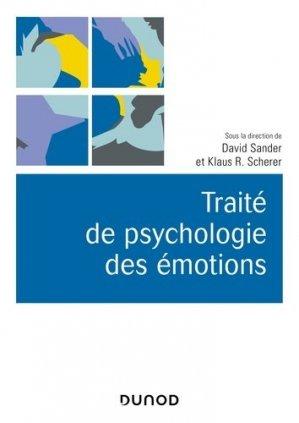 Traité de psychologie des émotions - dunod - 9782100793273 -