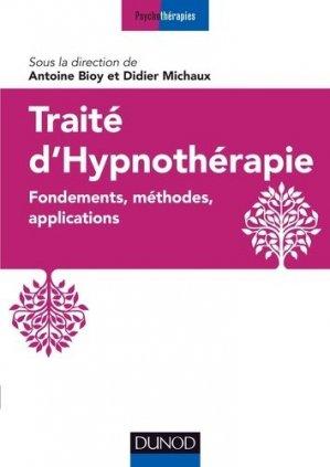 Traité d'hypnothérapie - dunod - 9782100800186 -