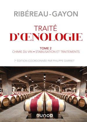 Traité d'œnologie - Tome 2 - 7e éd. - dunod - 9782100814787 -