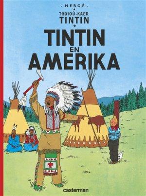 Les Aventures de Tintin : Tintin en Amérique (en Breton) - casterman - 9782203152946 -
