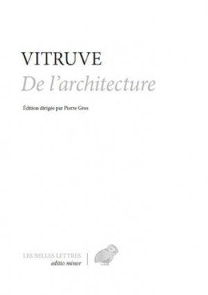 Traité d'architecture - les belles lettres - 9782251445076 -