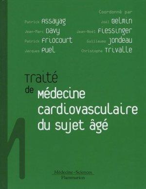 Traité de médecine cardiovasculaire du sujet âgé - lavoisier msp - 9782257113016 -