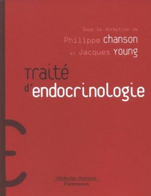 Traité d'endocrinologie - lavoisier msp - 9782257120052 -