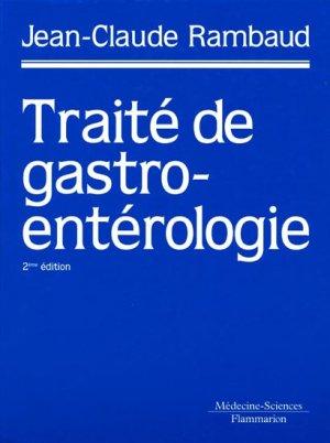 Traité de gastro-entérologie - lavoisier msp - 9782257160546 -