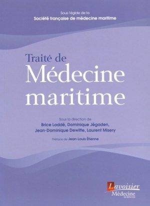 Traité de médecine maritime - lavoisier msp - 9782257206176