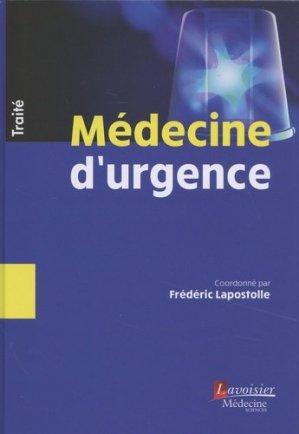 Traité de Médecine d'urgence - LAVOISIER / TEC ET DOC - 9782257206725 -