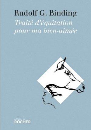 Traité d'équitation pour ma bien-aimée - du rocher - 9782268077765 -
