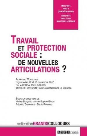 Travail et protection sociale - LGDJ - 9782275057392 -