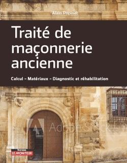 Traité de maçonnerie ancienne - le moniteur - 9782281140750 -