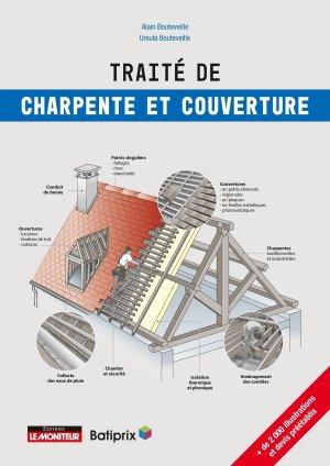 Traité de charpente et de couverture - le moniteur - 9782281143997 -