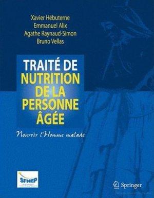 Traité de nutrition de la personne âgée - springer - 9782287799273 -