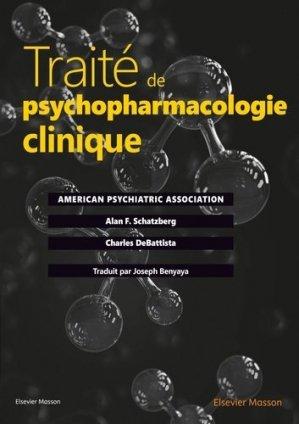 Traité de psychopharmacologie clinique - elsevier / masson - 9782294752117 -