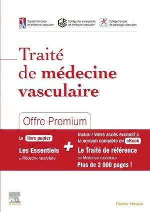 Traité de médecine vasculaire - elsevier / masson - 9782294768095 -