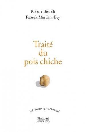 Traité du pois chiche - actes sud  - 9782330128746 -