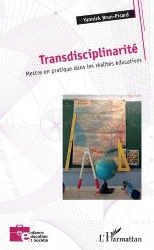 Transdisciplinarité - l'harmattan - 9782343192451 -
