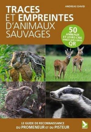 Traces et empreintes d'animaux sauvages - gerfaut - 9782351912256 -