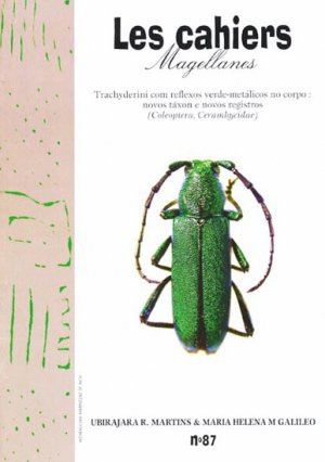 Trachyderini com reflexos verde-metalicos no corpo: novos taxon e novos registros - magellanes - 9782353870370 -