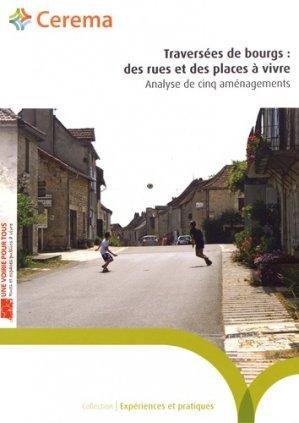 Traversées de bourgs : des rues et des places à vivre - cerema - 9782371803725 -