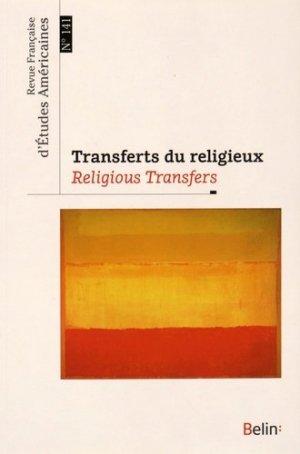 Transferts du religieux - Belin - 9782701191416 -