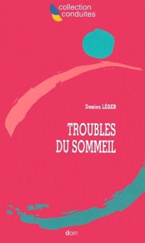 Troubles du sommeil - doin - 9782704010929 -