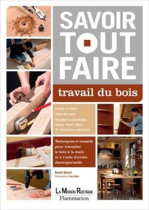 Travail du bois - maison rustique - 9782706600210 -