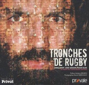 Tronches de rugby. 2008-2009, Une saison pour elles - Privat - 9782708928251 -