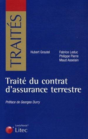 Traité du contrat d'assurance terrestre - lexis nexis (ex litec) - 9782711004133 -
