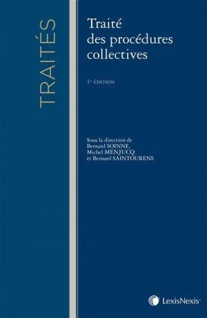 Traité des procédures collectives - lexis nexis (ex litec) - 9782711011070 -