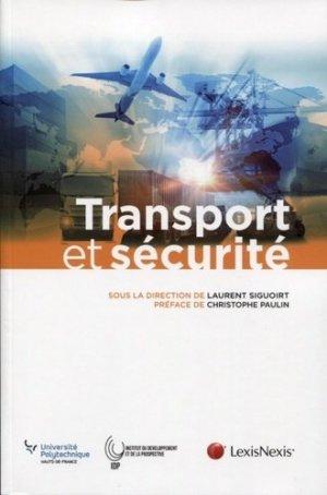Transport et sécurité - lexis nexis/litec - 9782711029365 -
